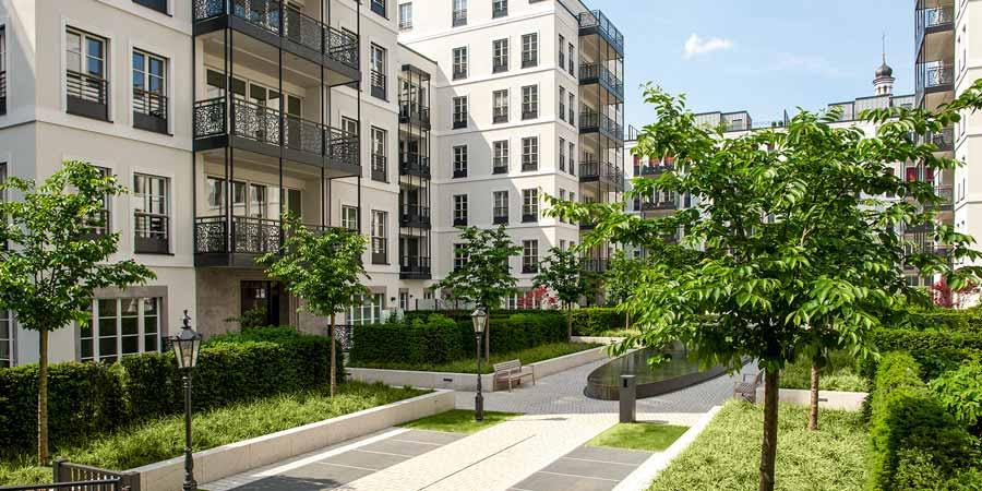 Frankonia Eurobau Immobilien Außenvisualisierung